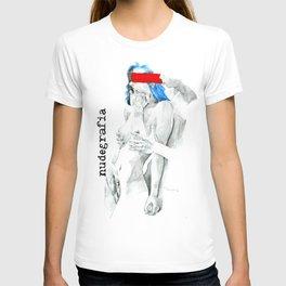 Nudegrafia - 007   Invisible and imaginary T-shirt