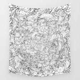 Cat Tornado Wall Tapestry