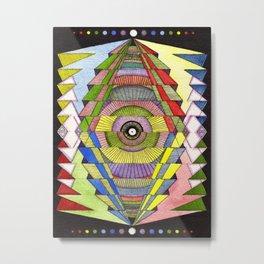 The Singular Vision Metal Print