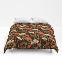 POPPIE FIELD DREAMS Comforters