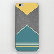 Concrete & Triangles III iPhone & iPod Skin