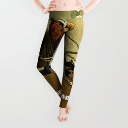 """""""They serve France--How can I serve Canada? Buy Victory Bonds"""" Leggings"""