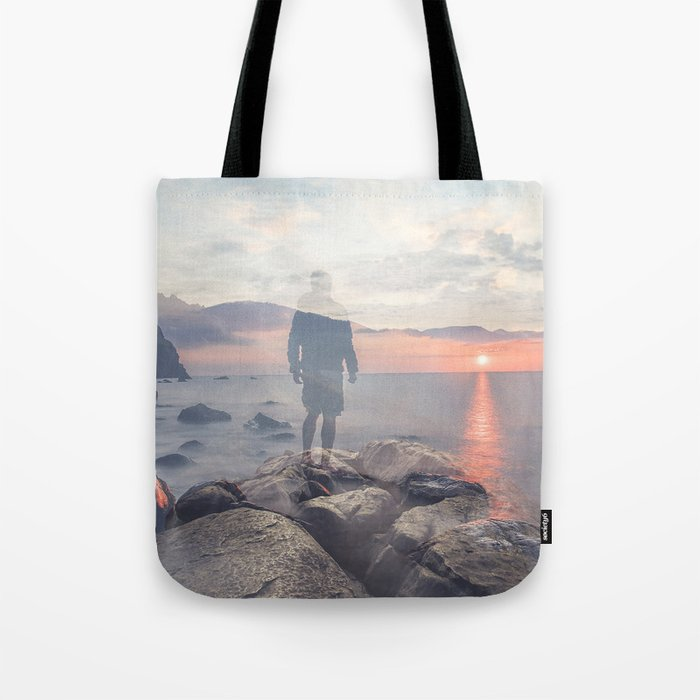 Mirrored Thoughts Tote Bag