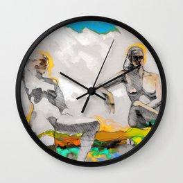 Three Angels Wall Clock