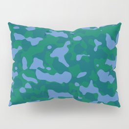 Shaded Meadow Camouflage Pillow Sham
