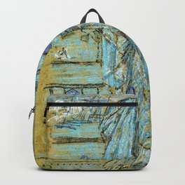 Morning Glories By James Mcneill Whistler | Reproduction Backpack