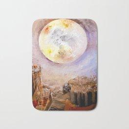 moon Bath Mat