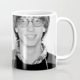Bill Gates Mugshot 1977 Black & White Coffee Mug