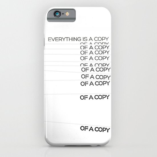 COPY iPhone & iPod Case