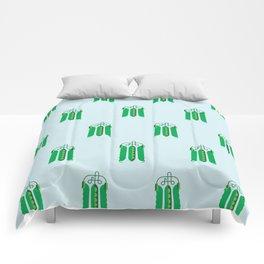 Vegetable: Snap pea Comforters