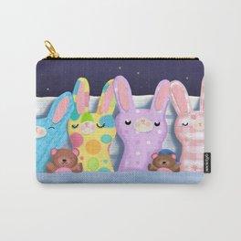 Very Sleepy Bunnies Carry-All Pouch