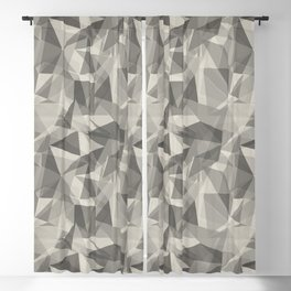 Abstract Geometrical Triangle Patterns 3 Benjamin Moore 2019 Trending Color Balboa Mist Light Pastel Blackout Curtain