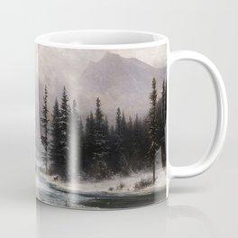 Gabriel Loppé - Winter in the Meiringen Valley 1866 Coffee Mug