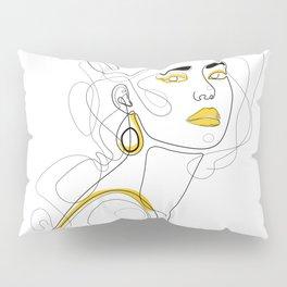 In Lemon Pillow Sham