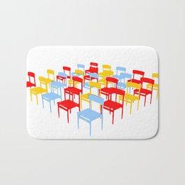 25 Chairs Bath Mat