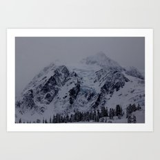 Glacial Blue Art Print