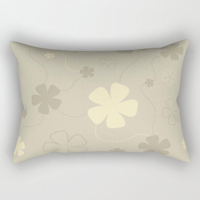 Flower fantasy light Rectangular Pillow