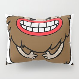 Cute Bigfoot Pillow Sham