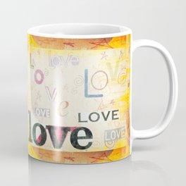Yellow Lover Vintage Stationery Coffee Mug