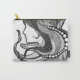 Intricate women in a dream Carry-All Pouch