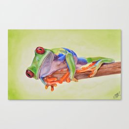Rana Tropicana Canvas Print