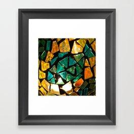 Broken Glass Framed Art Print
