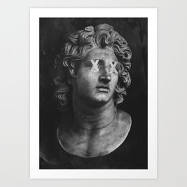 Alexander The Great II Art Print