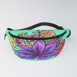 Tropical floral illustration Fanny Pack