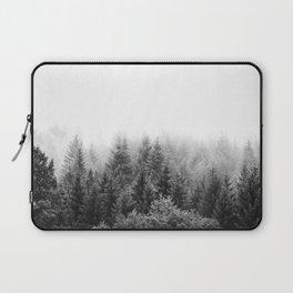 Forest Foggy Laptop Sleeve