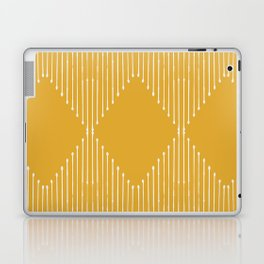 Geo / Yellow Laptop & iPad Skin