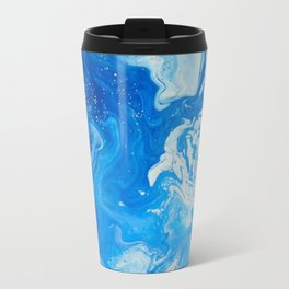 Fluid Blue 3 Travel Mug