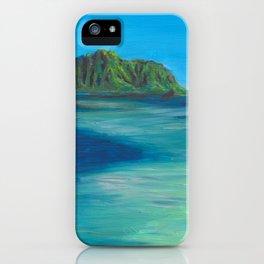 Kaneohe Sandbar iPhone Case