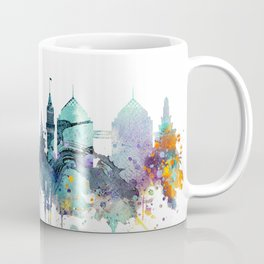 Watercolor Oakland skyline cityscape Coffee Mug