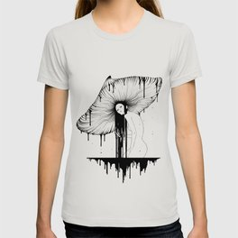 mushroom lady T-shirt