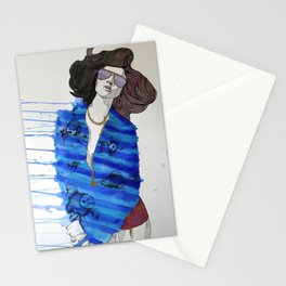 Fish Pajamas Stationery Cards