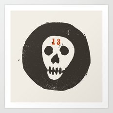 thirteen Art Print