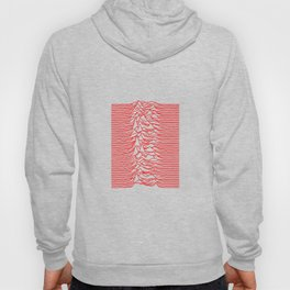 Joy Division - Unknown Pleasures [Red Lines] Hoody