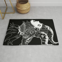 Maleficent Tribute Rug