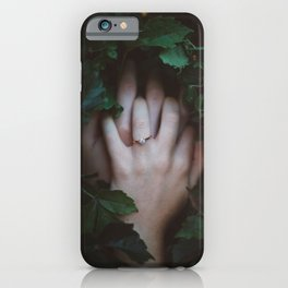 Hands Nature iPhone Case