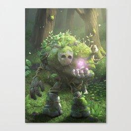 Garden Golem Canvas Print