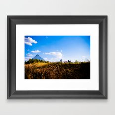 Field of Egyptian Dreams Framed Art Print