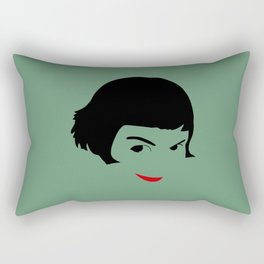 le fabuleux destin d'amelie poulain Rectangular Pillow