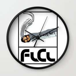 FLCL Never Knows Best Cigarette Wall Clock