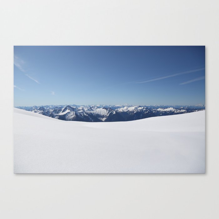 Cloudless Summit Canvas Print