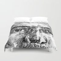 ali gulec Duvet Covers featuring Ali by hitit