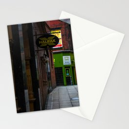 An alleyway in Leeds (UK) Stationery Cards