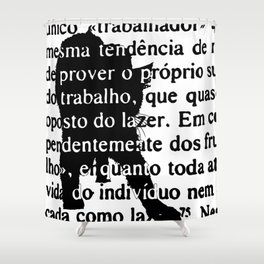 Gato e Lazer Shower Curtain