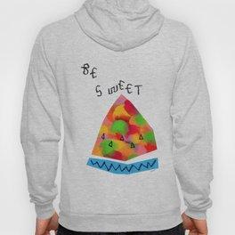 Be Sweet - Fruit Painting Colorful Pop Art Hoody