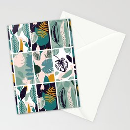 The Leaf Patern Stationery Cards