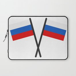 Russia flag Laptop Sleeve